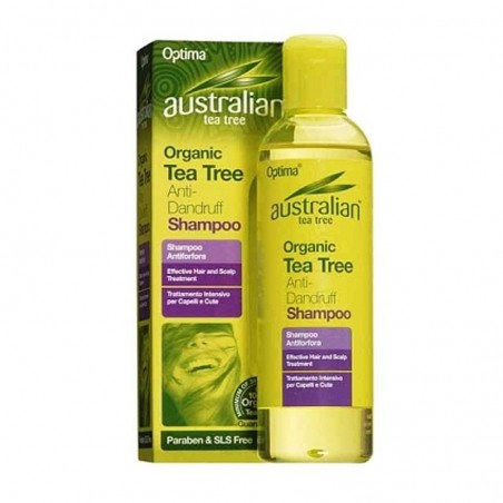Optima - Shampo antiforfora Tea tree oil