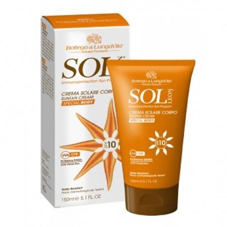 Crema solare spf 10 - Sol Leon